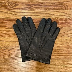 Brooks Brothers Leather Driving Gloves